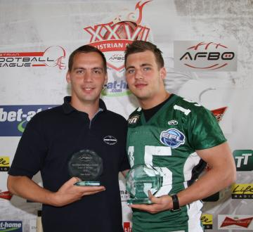 Coach und Youngstar of 2010: Ivan Zivko (links), Jakob Baran (rechts).