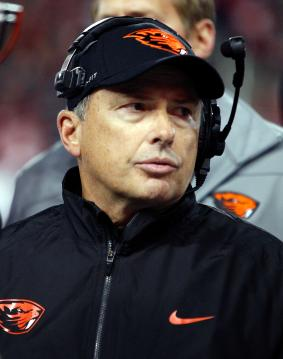 Mark Banker als Defensive Coordinator der Oregon State Beavers