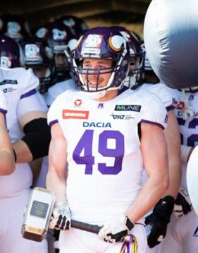 Vienna Vikings LB #49 Alex Watholowitsch