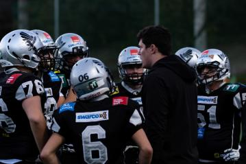 Sean Shelton will mit der Tirol Raiders U15 den Titel holen