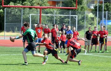 Flag Football auf Tortuga