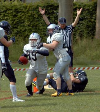 Touchdown durch FB Cyril Imadjane (Thun Tigers)