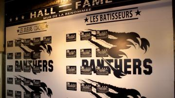 Die neue Hall of Fame Tafel in Thonon-les-Bains