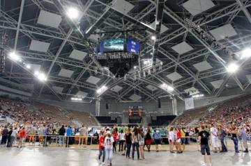 Die Atlas Arena in Lodz