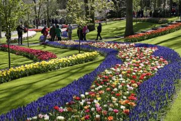 Der Keukenhof im April