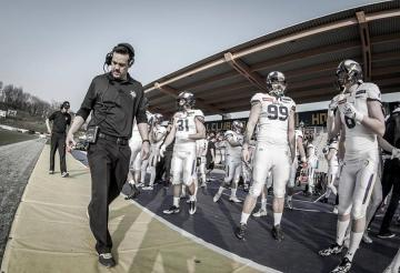 Vienna Vikings Head Coach Chris Calaycay