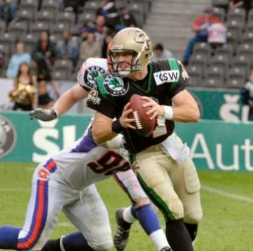 Grey-Cup-MVP Travis Lulay spielte 2007 f�r Berlin Thunder.