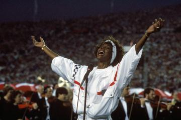 Unvergessene Momente - Whitney Houston beim Super Bowl XXV