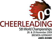 Logo der 5th Cheerleading World...