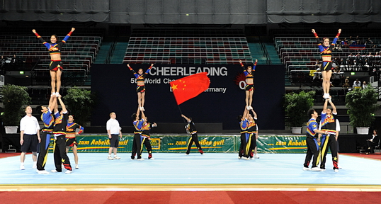 Place 4: China (Cheer Mixed)_380,0 Points