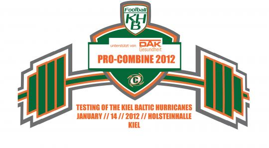 Kiel Baltic Hurricanes_Pro Combine Leistungstest 2012
