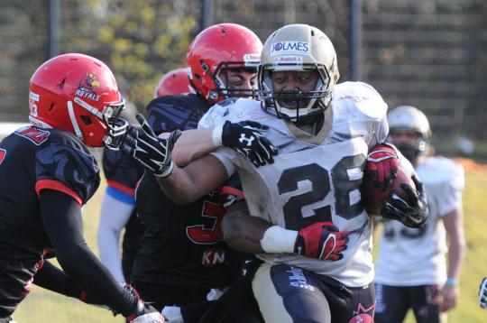 RB Phillip Gamble (Nr. 26, Paderborn Dolphins)
