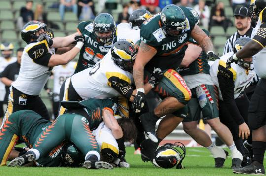 Berlin Adler vs. Kiel Baltic Hurricanes