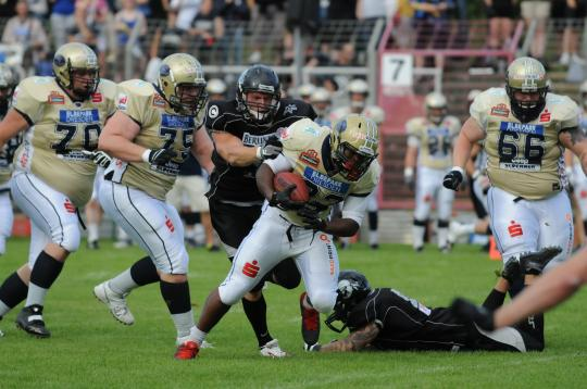 RB  Donald Russell (Nr. 23, Dresden Monarchs)