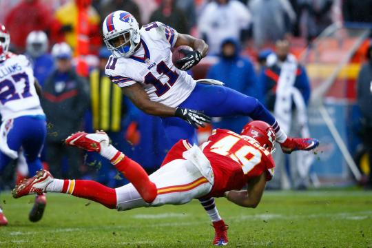 Marcus Thigpen #11 (Buffalo Bills)