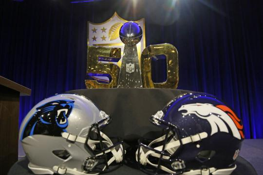 Super Bowl 50: Carolina Panthers vs. Denver...