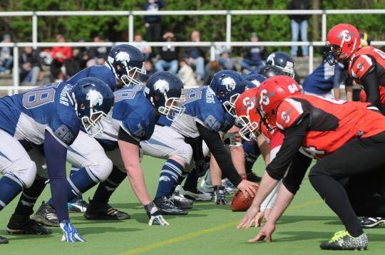 Berlin Thunderbirds vs. Spandau Bulldogs