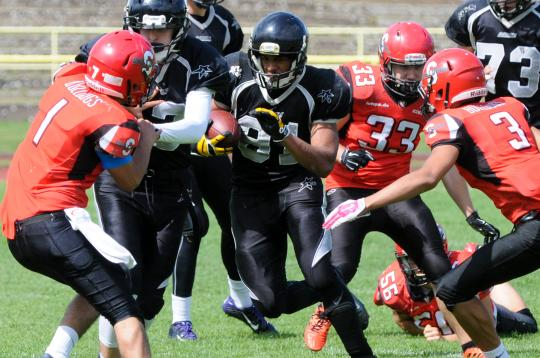 GFLJ - Spandau Bulldogs vs. Berlin Rebels