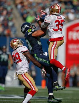 Tight End Jimmy Graham #88 (Seattle...