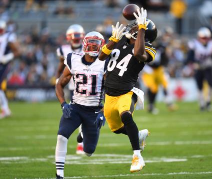 Antonio Brown #84 (Pittsburgh Steelers)