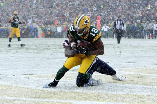 Randall Cobb #18 (Green Bay Packers)