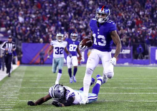 Odell Beckham Jr. #13 (New York Giants)