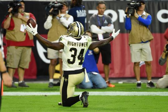 Tim Hightower #34 (New Orleans Saints)