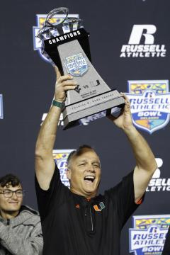 Head Coach Mark Richt (Miami Hurricanes)