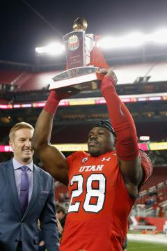 Offensive MVP Joe Williams #28 (Utah Utes)