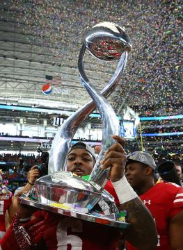 Corey Clement #6 (Wisconsin Badgers)