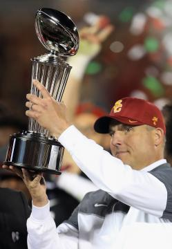 Head Coach Clay Helton (USC Trojans)