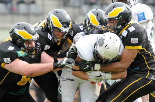 EFL - Berlin Adler vs. Thonon Black Panthers