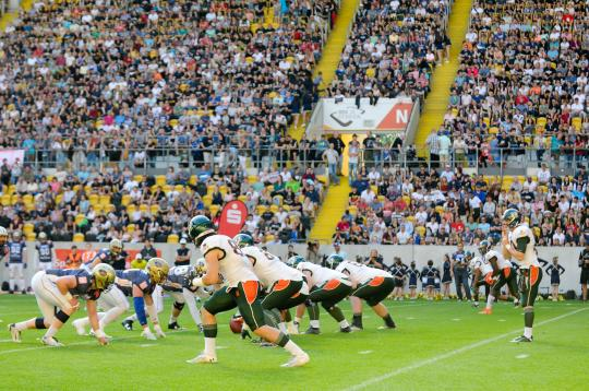 GFL - Dresden Monarchs vs. Kiel Baltic...