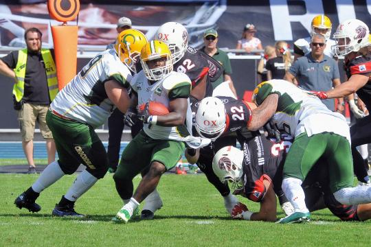 New Yorker Lions - Cologne Crocodiles