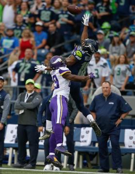 Wide Receiver Kasen Williams #18 (Seattle Seahawks)