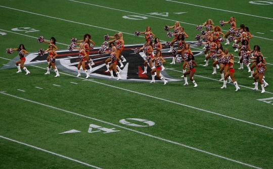 The Atlanta Falcons Cheerleaders
