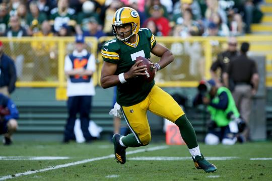 Brett Hundley #7 (Green Bay Packers)
