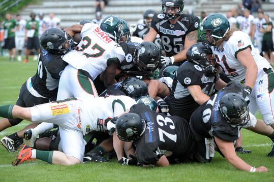 GFL - Berlin Rebels vs. Kiel Baltic Hurricanes