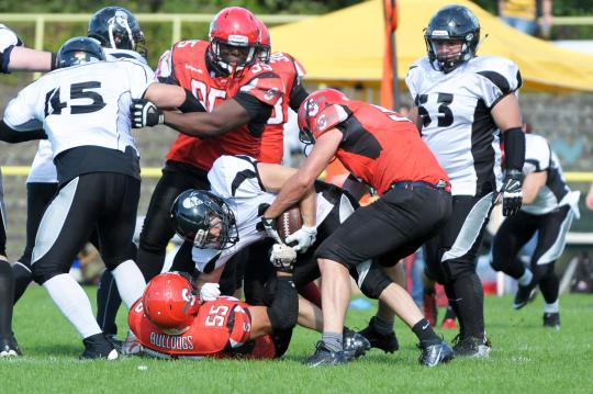Regionalliga Ost - Spandau Bulldogs vs. Berlin Rebels II