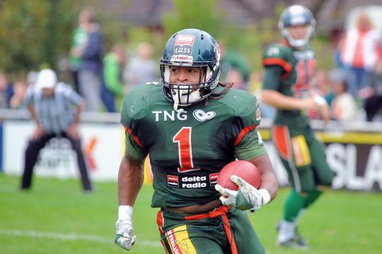# 1 RB Christopher McClendon (Kiel Baltic Hurricanes) macht heute den Unterschied