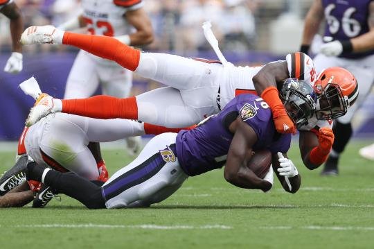 Wide Receiver Jeremy Maclin #18 (Baltimore...