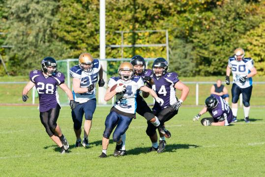 Langenfeld Longhorns Prospects  vs. Schiefbahn Riders NRW Verbandsliga West
