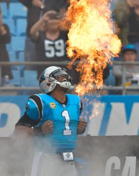 Cam Newton #1 (Carolina Panthers)