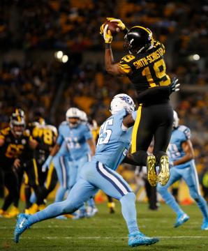 JuJu Smith-Schuster #19 (Pittsburgh...