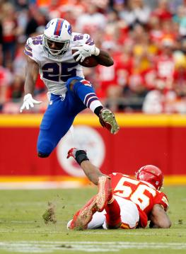 Running Back LeSean McCoy #25 (Buffalo Bills)