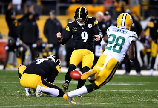 Chris Boswell #9 (Pittsburgh Steelers)