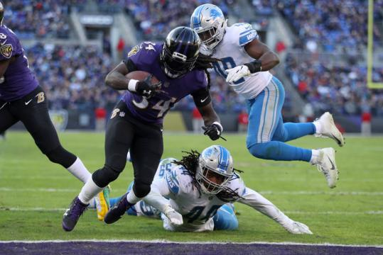 Running Back Alex Collins #34 (Baltimore Ravens)