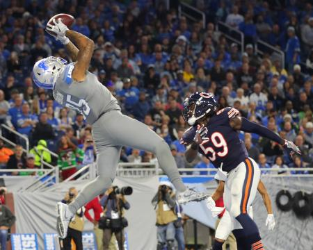 Tight End Eric Ebron #85 (Detroit Lions)