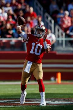 Quarterback Jimmy Garoppolo #10 (San Francisco 49ers)
