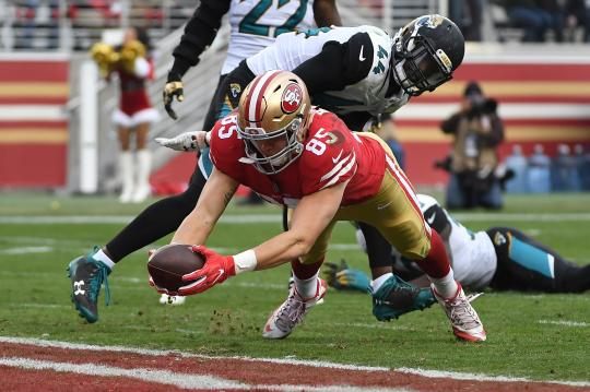 George Kittle #85 (San Francisco 49ers)